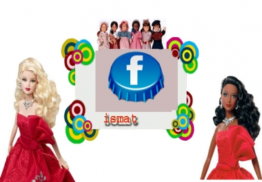 give  210 facebook like or photo like only