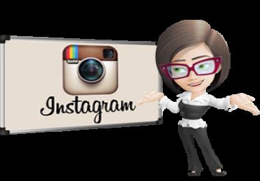 Add 1000+ HQ Instagram Likes or 500+ HQ Instagram Followers Very Fast