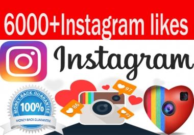 add 6000 Instagram Photo,Post likes Guaranteed