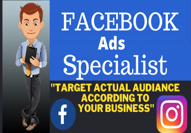 setup facebook marketing advertising fb ads campaign with instagram ads