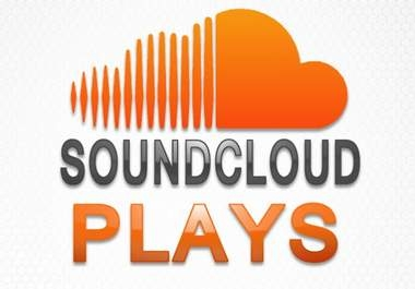 Increase 2000 Sound Clouds Plays from high quality traffic