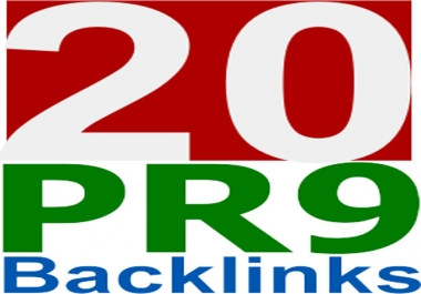 manually Create 20 PR9 Authority Safe Backlinks + Link to submit 220+ Search Engines