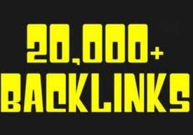 use scrapebox to build more than 20000 backlinks