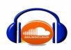 provide 1000  soundcloud  follow only