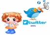 give 570 world wide  twitter follow only