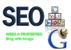 Create 25 Authority Web2 Blog with Image, Manual SEO Link Wheel