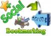 Offer 100 high PR Social bookmarking backlinks