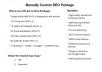 offer Manually Custom SEO Package