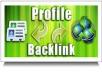 Manually Create 40 PR9 Authority Profile Backlinks