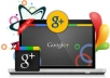 give you real and active google+ profile based follower or friend