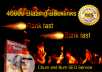 top Google with 40,000 Churn and Burn Backlinks