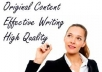write 1000 words unique SEO optimized articles