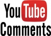 YouTube Custom 15 Comments in Your Video only