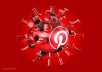 Get You Instantly Pinterest 150 Likes OR 150 Repins OR 100 Followers only
