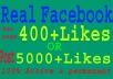 promote your Facebook page OR Post likes