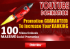 Embed Your Youtube Video With Massive Social Promotion
