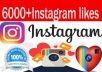 add 6000 Instagram Photo,Post likes Guaranteed