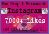 Give 7000+ Instagram Instagram Likes