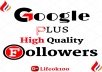 add 1000 google plus genuine high quality followers/cercles
