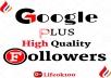 add 1000 google plus genuine high quality followers/cercles