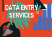 do any kind of data entry for 3 hours