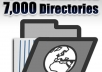 give you 7000 directories list with Page Rank