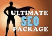 provide you All In One ★ Ultimate SEO Package