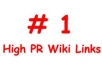 Create 1,000+ Contextual Wiki Backlinks to assist boost your rank