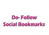 submit your web site to 100 dofollow social bookmarking sites