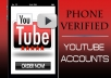 give you YOUTUBE USA PV account
