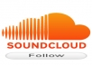 give you 100% real 200 soundcloud followers