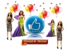 give  1000 facebook like or photo like only